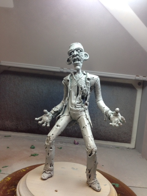 Zombama primed and ready for paint