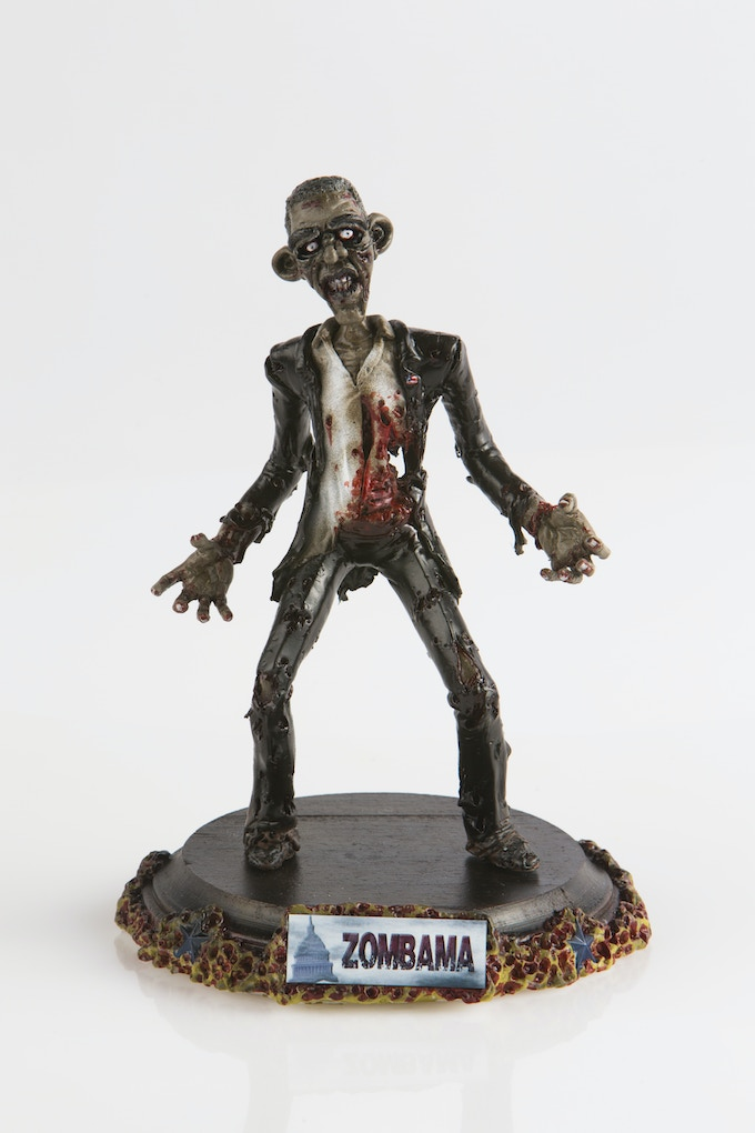 Zombama ready to be released on society!
