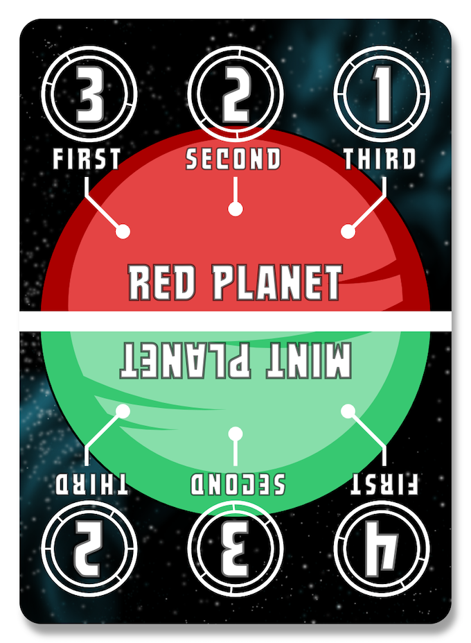 One of the planet cards from the game.  These will hopefully be backer designed - see the image below.
