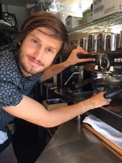 Zachary of Spin City Coffee