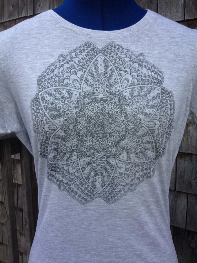 "Luminous Flower ""Radiate"" Women's T-Shirt"