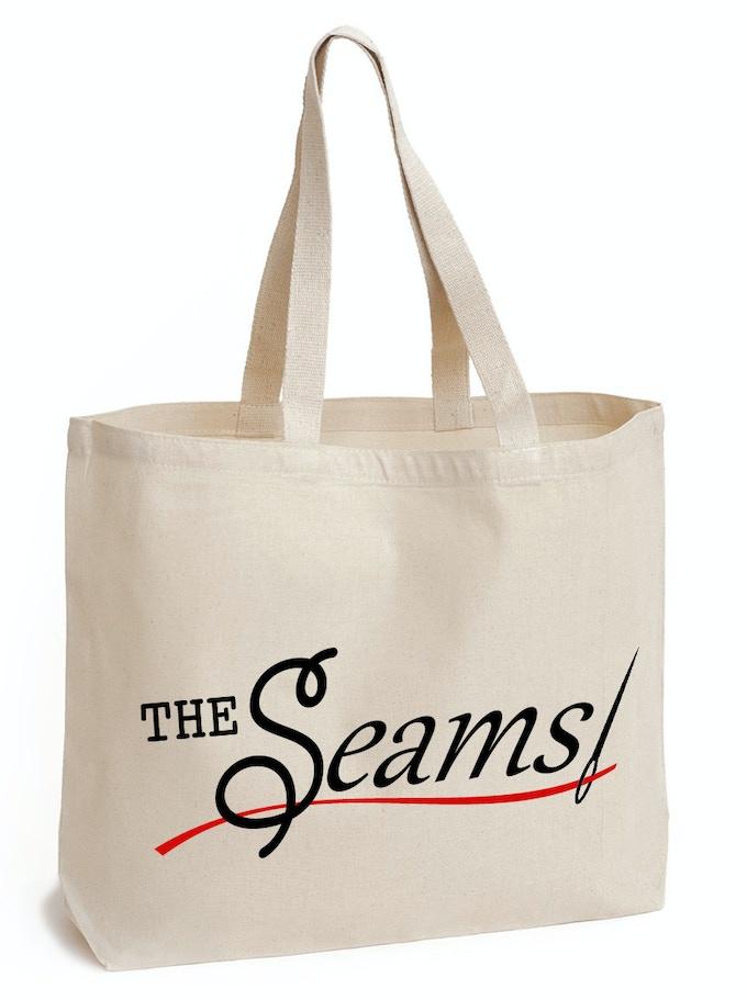 The SEAMS tote bag by Enviro-Tote