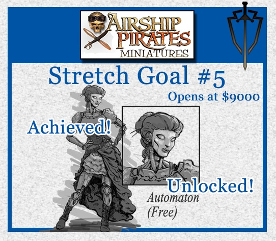Stretch Goal #6 which unlocked at $9000