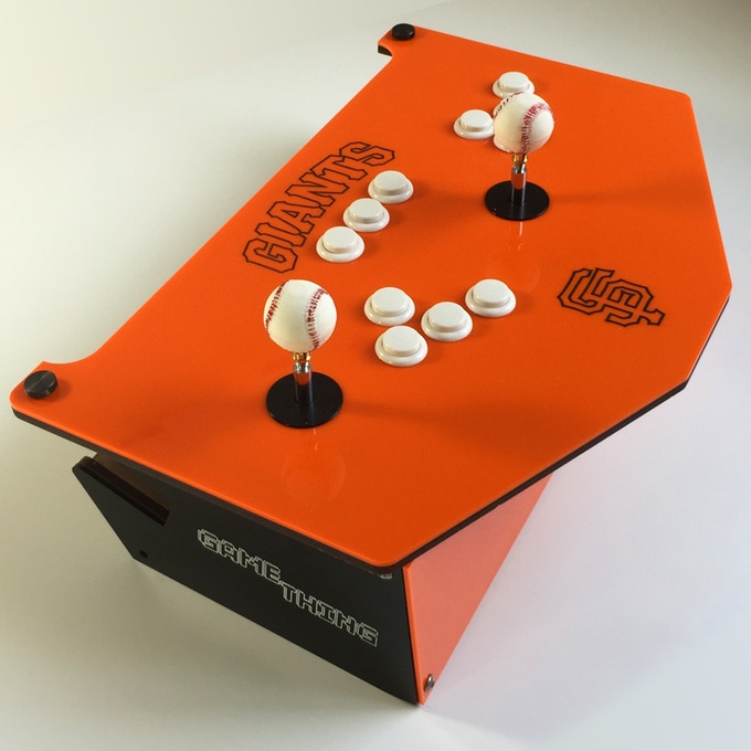 SF Giants themed GameThing we made in celebration of their 2014 World Series title!