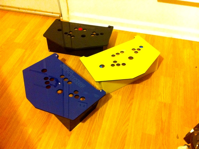 After a late night laser cutting, the first prototypes emerged
