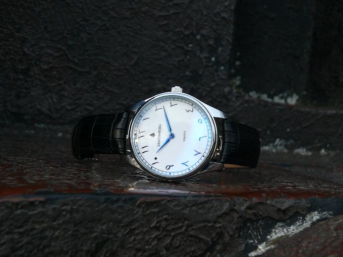 Blue Alpha Anodized Watch Hands
