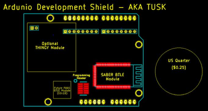 TUSKLC - Low Cost Dev Board