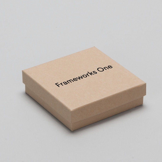 Mockup of storage box