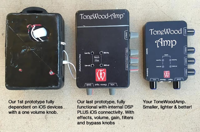 From the 1st prototype to your ToneWoodAmp