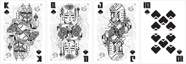 Bicycle Ultimate Universe Playing Cards by Gambler's