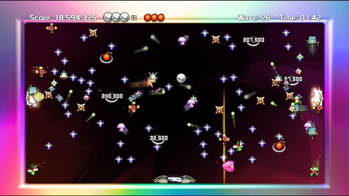Screenshot from the 2006 Xbox360 version