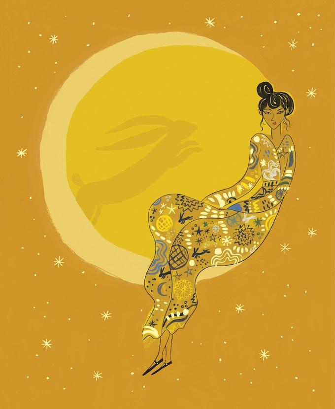 Moon Rabbit by Emma Farrarons