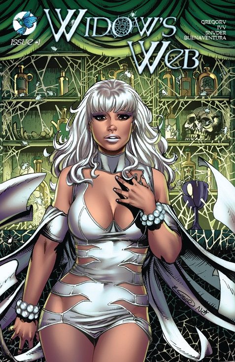 WIDOW'S WEB #1 Standard Edition wrap around Cover C by Ian Snyder and Nei Ruffino