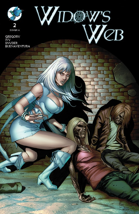WIDOW'S WEB #2 Standard Edition Cover A by Anthony Spay and Ivan Nunes