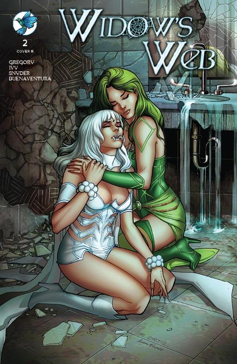 WIDOW'S WEB #2 Standard Edition Cover B by Richard Ortiz and Ivan Nunes