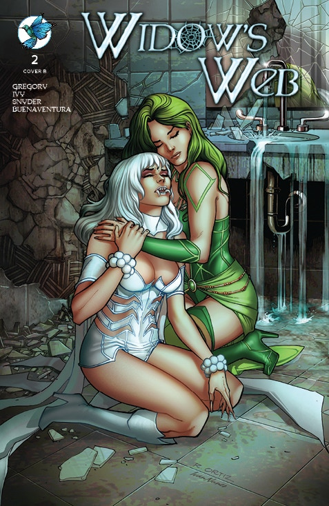 WIDOW'S WEB #2 Standard Edition Cover B by Richard Ortiz and Ivan Nunes