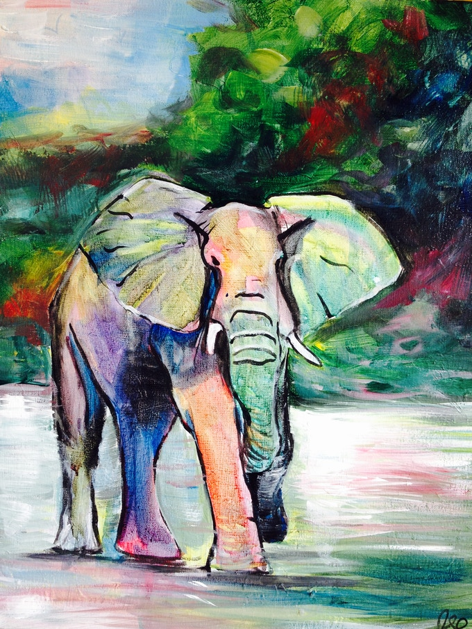 """""""Elephant"""" from Animal Project"""