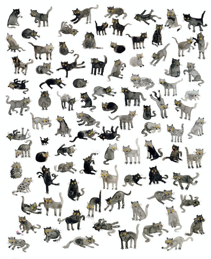 Black Cats by Lorna Scobie