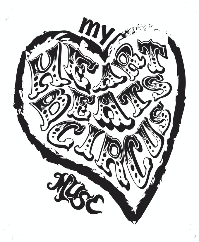 Does your heart beat circus?  Share your love with the world with a Muse t-shirt.  This is the silkscreen we use!
