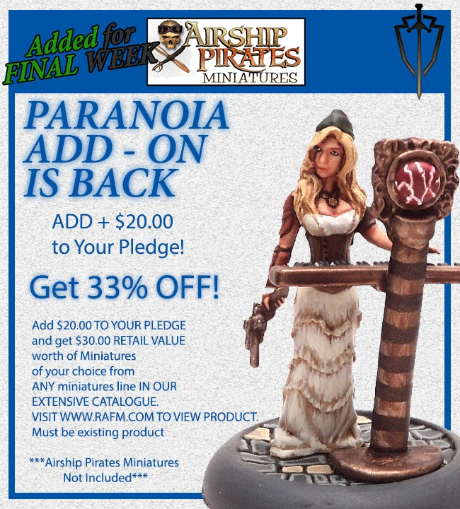 Paranoia Add-On is still available as per Update#12