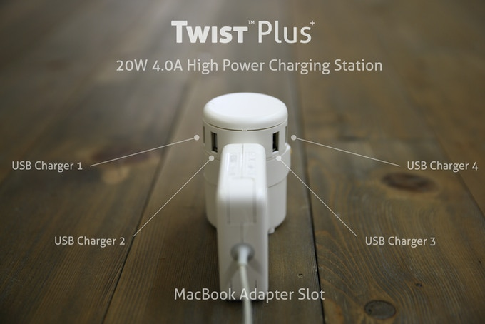 Twist Plus - Enough Power to Meet Your Needs