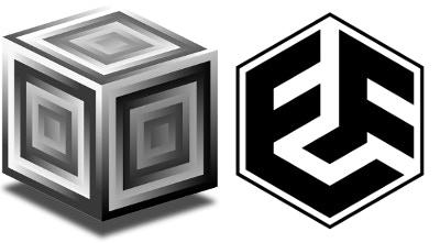 Logos by Eli: SuperCollider (L), Eli Fieldsteel (R)