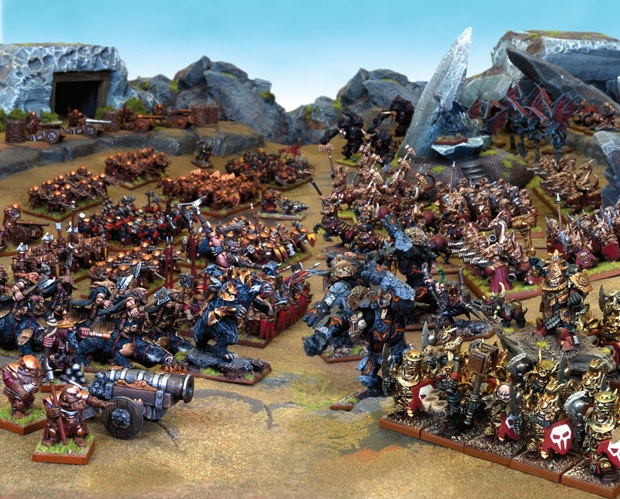 Kings of War Fantasy Battle Game - 2nd Edition by Mantic