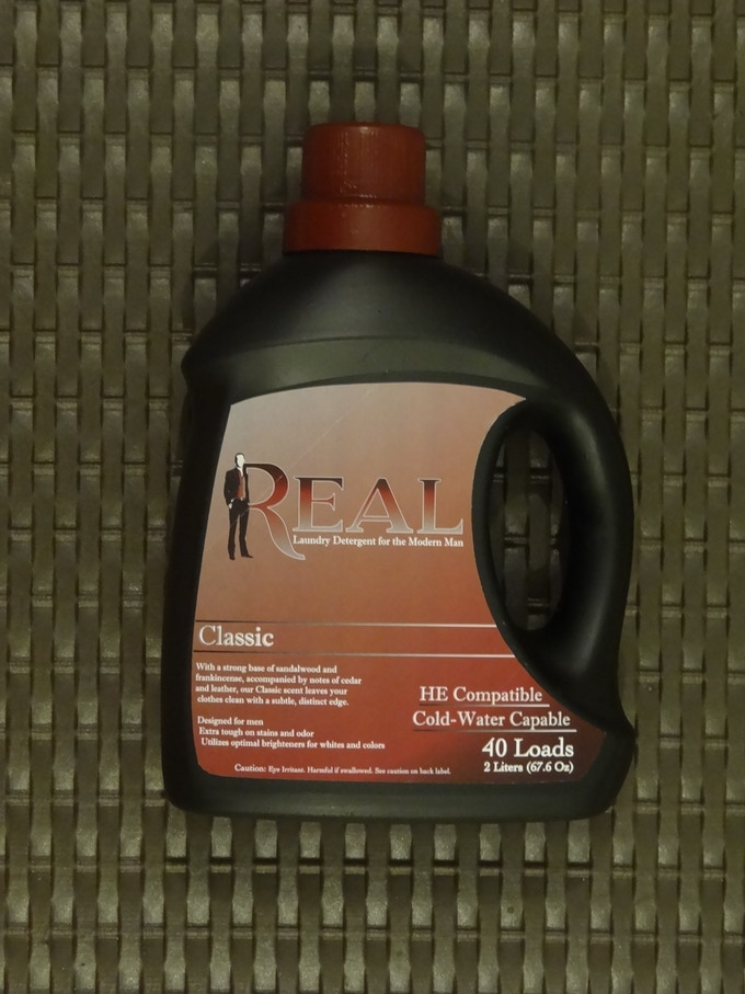 Real Laundry Detergent For Men By Real Kickstarter