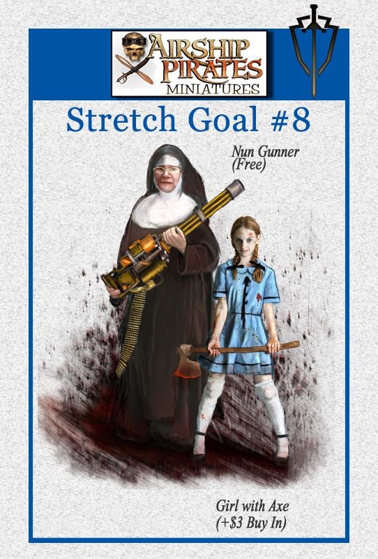 Stretch Goal #8 unlocks at $15,000.00