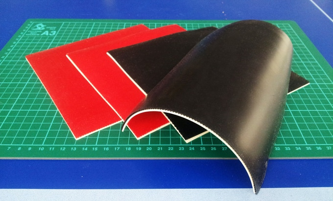 Quality rubber sheets sourced from professional table tennis rubber manufacturer
