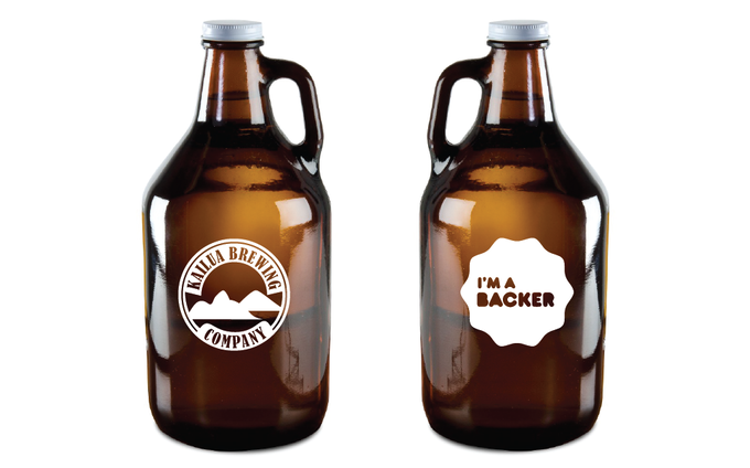CUSTOM GROWLER - Show your pride with this exclusive Kickstarter growler!