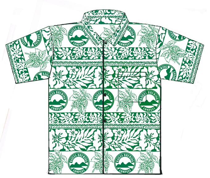 FOUNDERS LEVEL: CUSTOM ALOHA SHIRT - You'll really be showing off with this one-of-a-kind custom aloha shirt made specifically for this campaign!