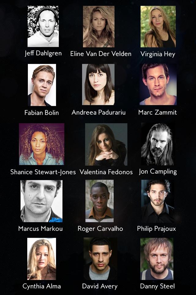 The cast so far...