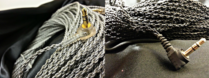 Left: Titanium Silver, Right: Phantom Black (Hard Wired, Hero Style cable only comes in Phantom Black)