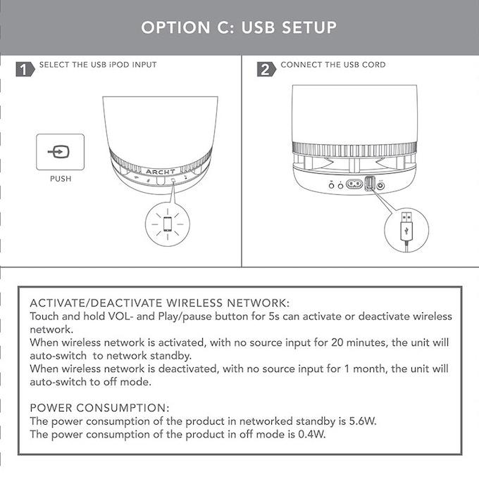 USB Set Up