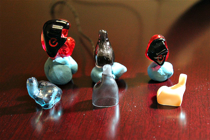 From left to right: A full CIEM, Supra Beta Prototype, Supra