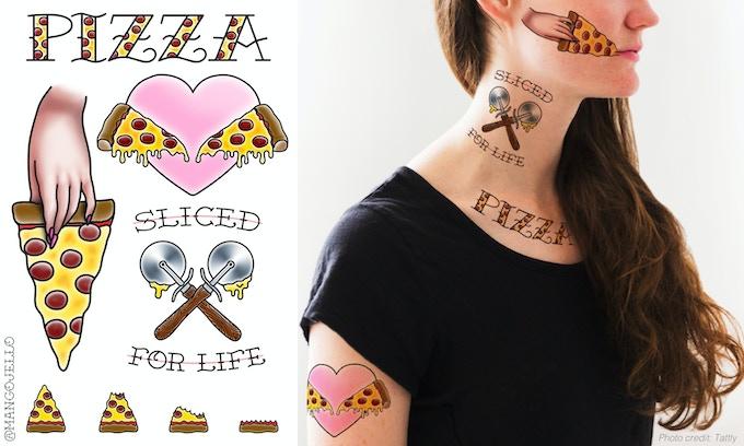 "4"" X 6"" tattoo sheet (Photo courtesy of Tattly)"