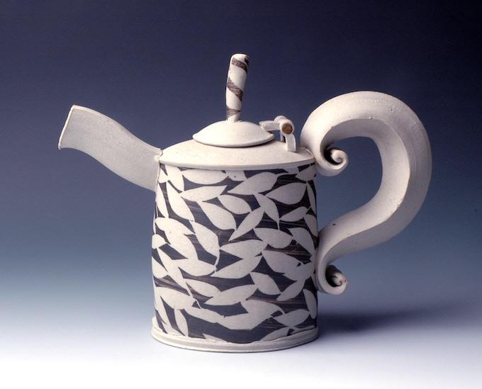 Teapot by Hayne Bayless, $500 pledge level