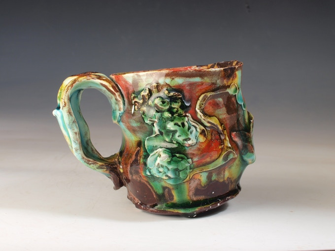 Cup by Lisa Orr, $100 pledge level