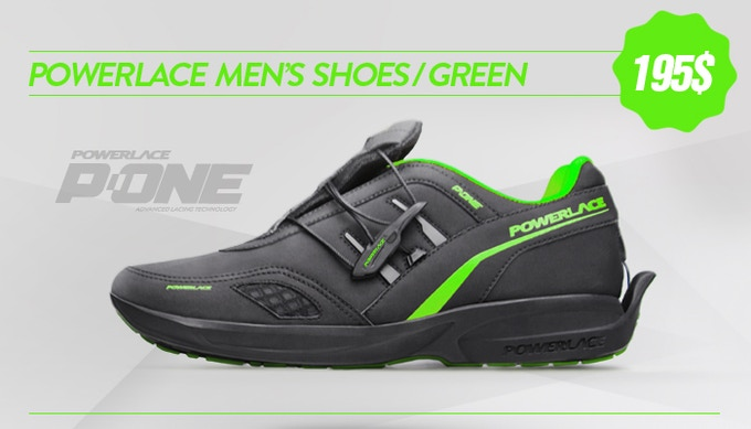 Powerlace-advanced-auto-lacing-shoe-technology-P-One-Green