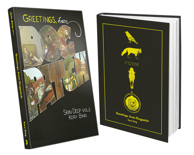 Softcover (left) and Hardcover (right)