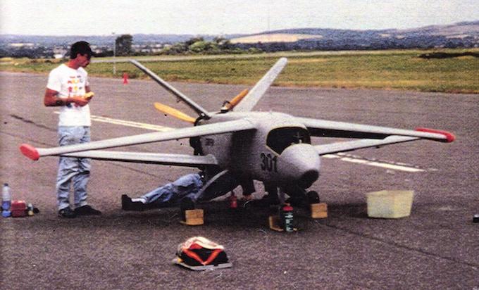 The Griffin UAV circa 1990