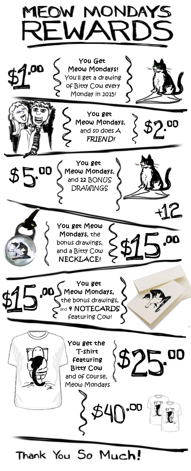 Meow Mondays : 2015 by The Other Linda Roesch — Kickstarter