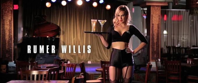 RUMER WILLIS (@therue) stars as Veronica Hampton