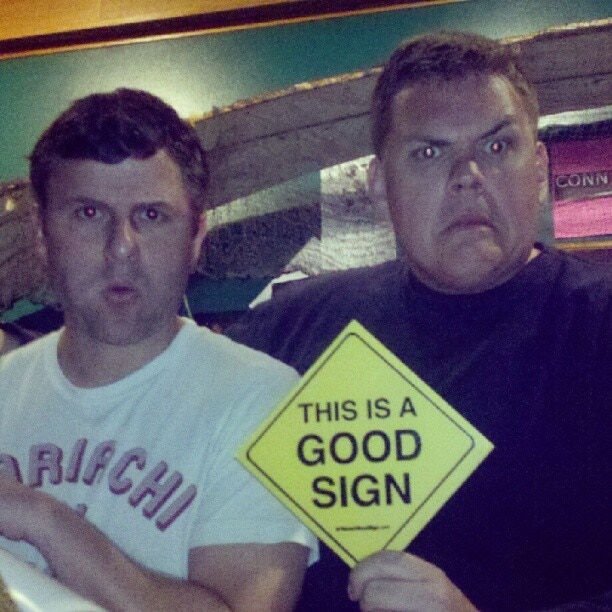 "Steve Lemme and Kevin Heffernan stars of movies like ""Beerfest"" and ""Super Troopers"""