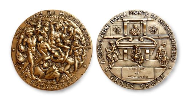 Michelangelo Medal