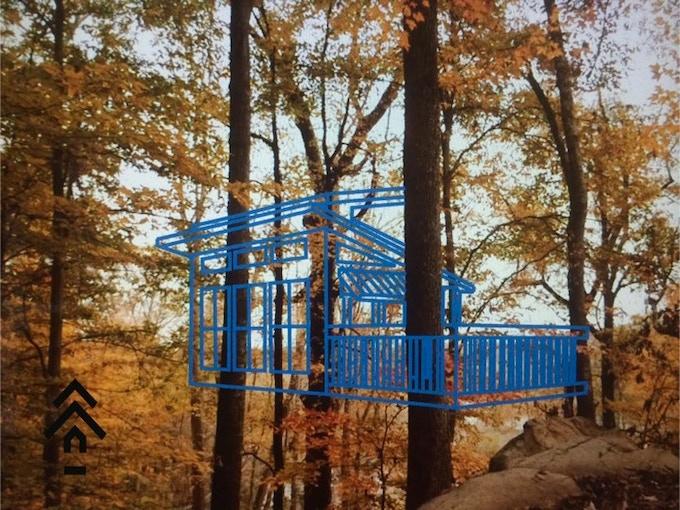 Treehouse Design #1