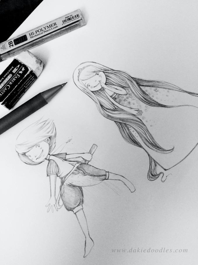 Initial Princess Sketch