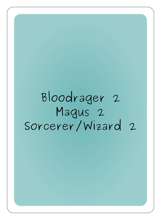 spellcards for the pathfinder role playing game by robert kickstarter. Black Bedroom Furniture Sets. Home Design Ideas