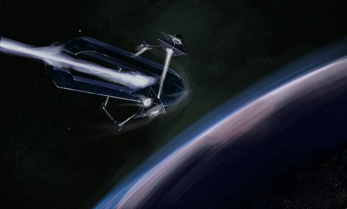 Alien Ship Aproaches Earth